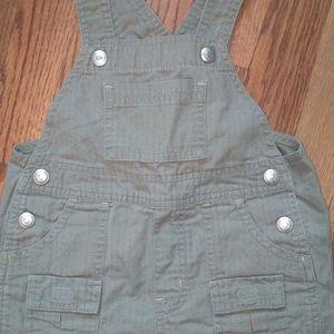 Green Gap overalls